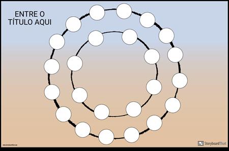 Circle Game Board