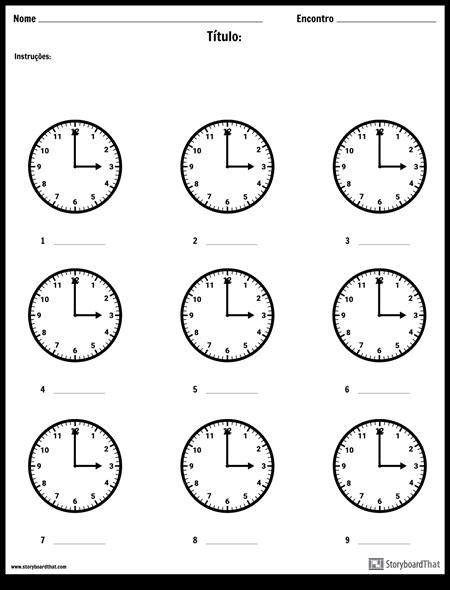Escreva o Tempo