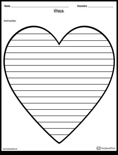 Escrita Criativa - Coração