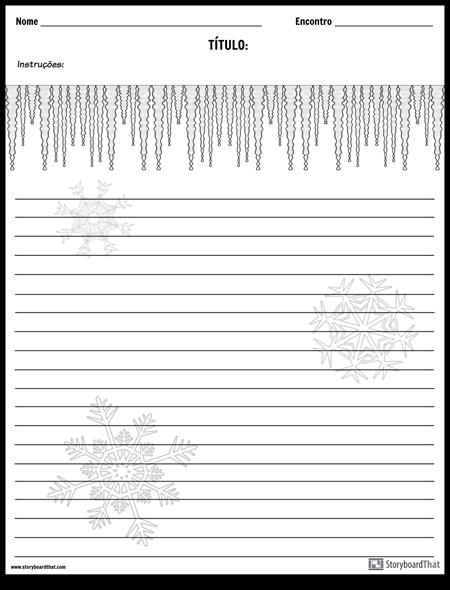 Escrita Criativa - Inverno