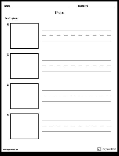 Escrita Prática - Palavras Mais Longas e Caixas de Imagens