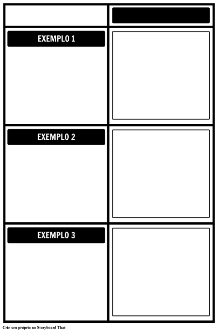 Exemplos de grade
