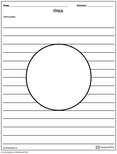 Ilustração do Círculo