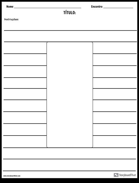 Ilustração do Retângulo