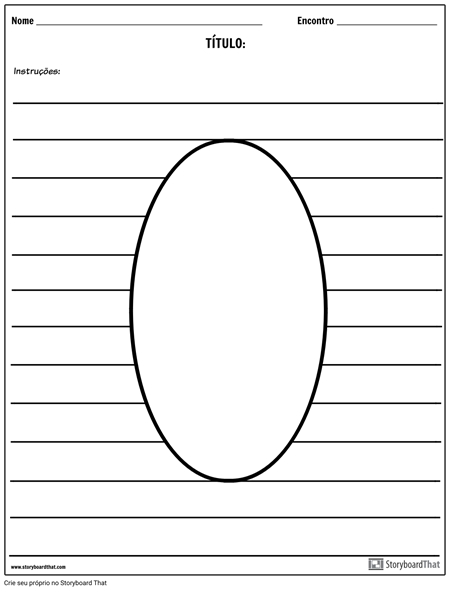 Ilustração Oval
