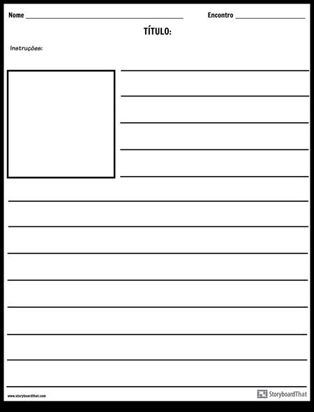 Ilustração Quadrada