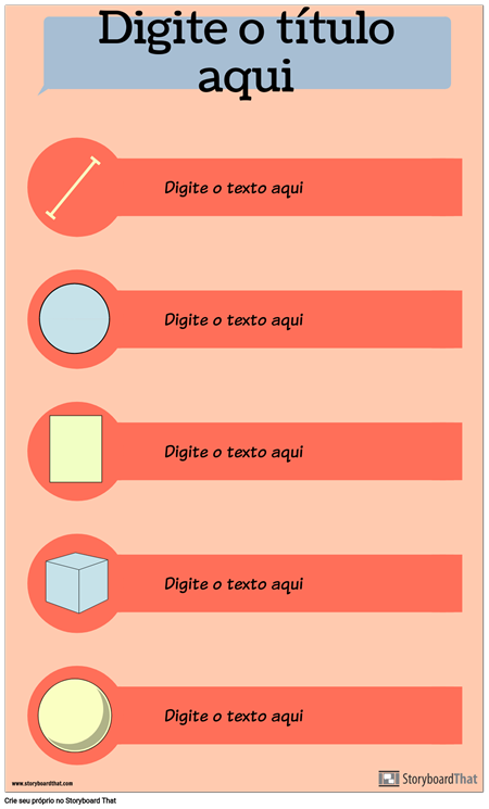 Infográfico de Formas