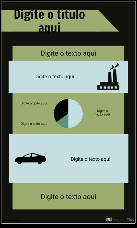 Modelo de Infográfico PSA