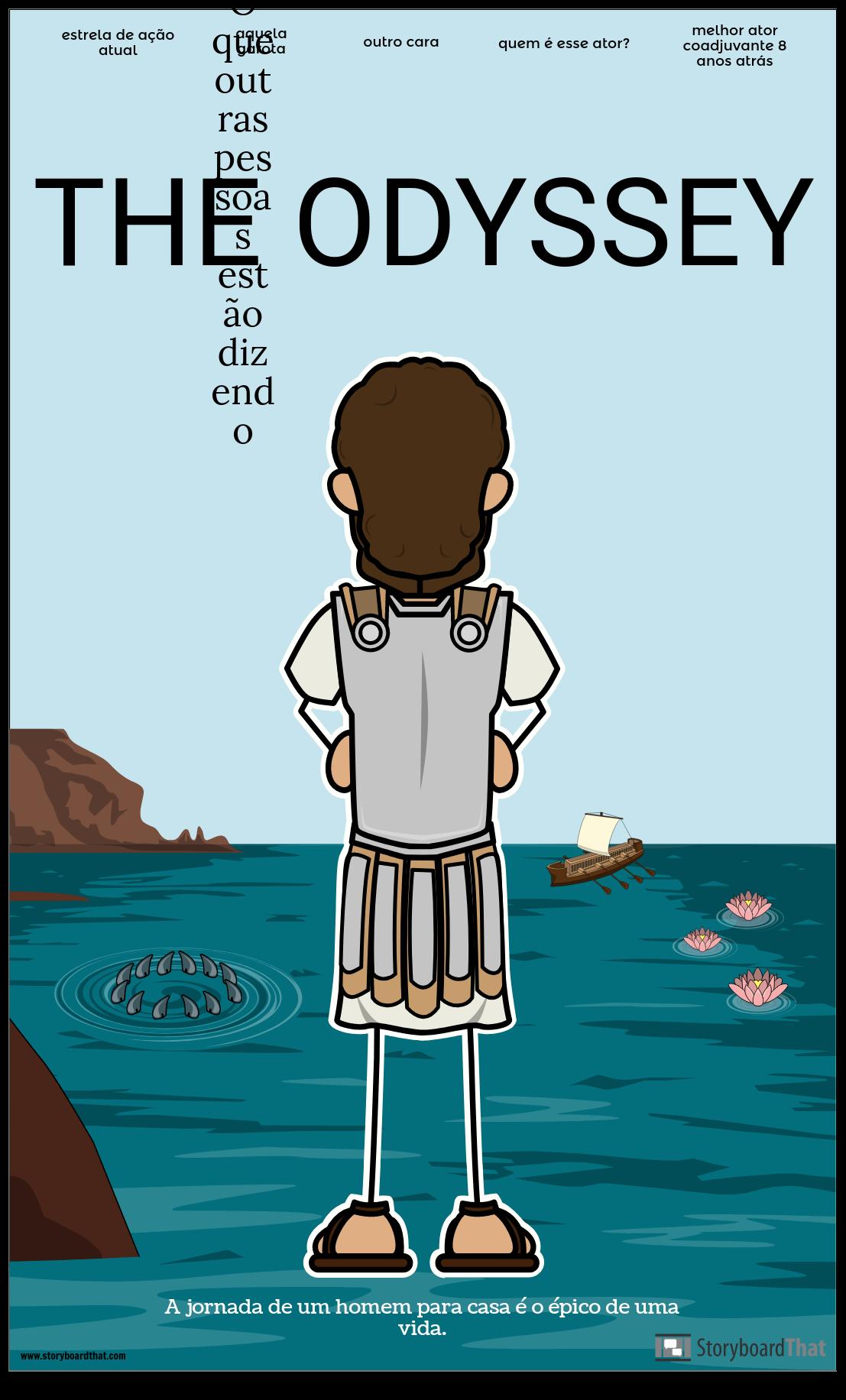 O Cartaz do Filme da Odisseia