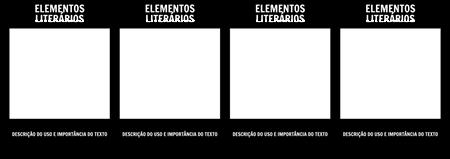 T-gráfico dos Elementos Literários