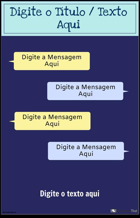 Template PSA Para Mensagens de Texto