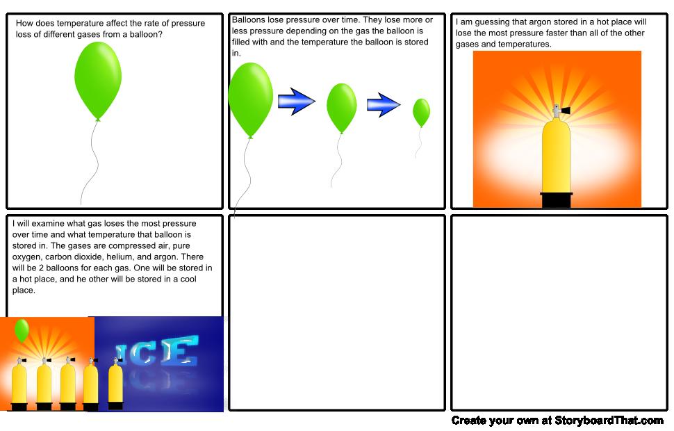 My Science Fair Experiment