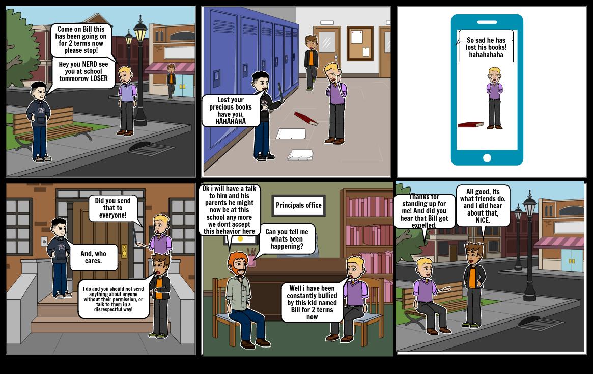 Bullying Comic strip PyrsJ