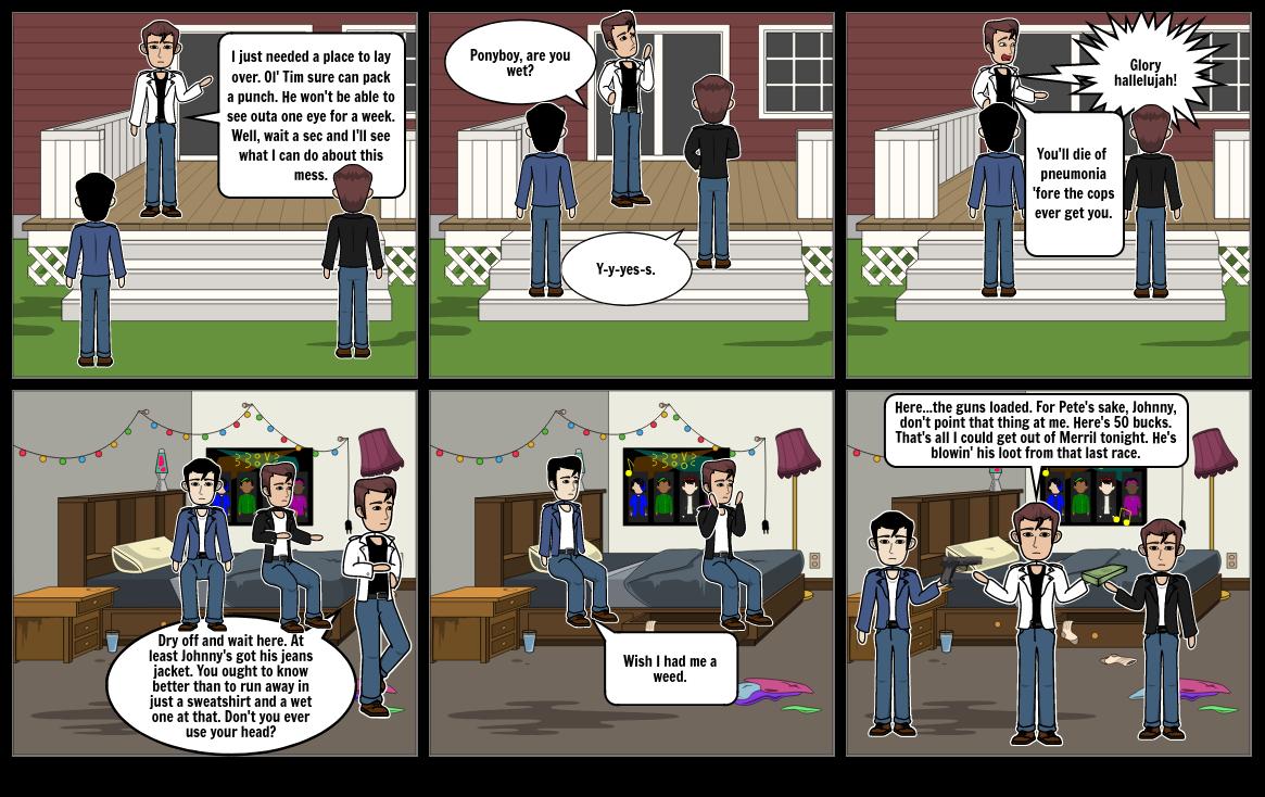 Outsiders graphic novel 2