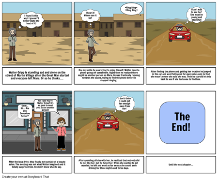 Martian Chronicles: The Silent Towns