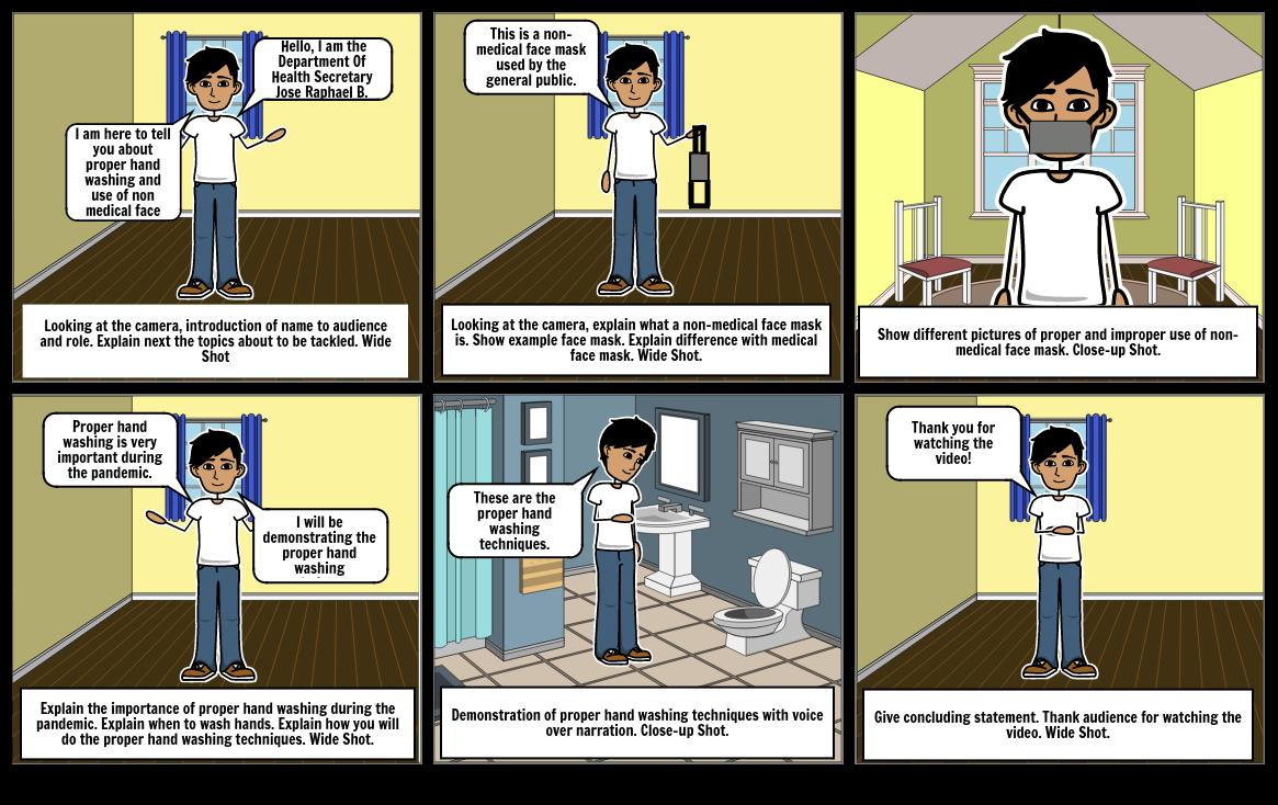 Beech, Jose Raphael B., 8G, Storyboard