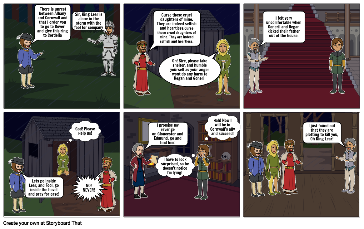 King Lear Act 3