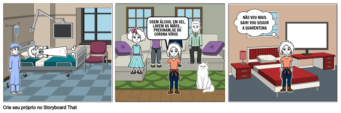 Conscientização corona vírus