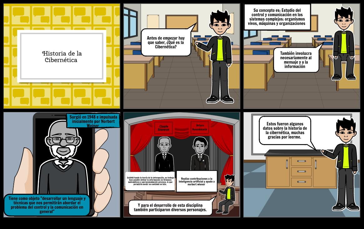 Historia De ciber