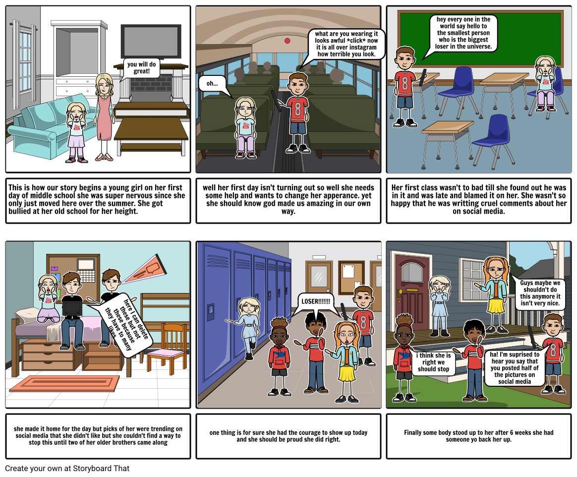 storyboard for ICT