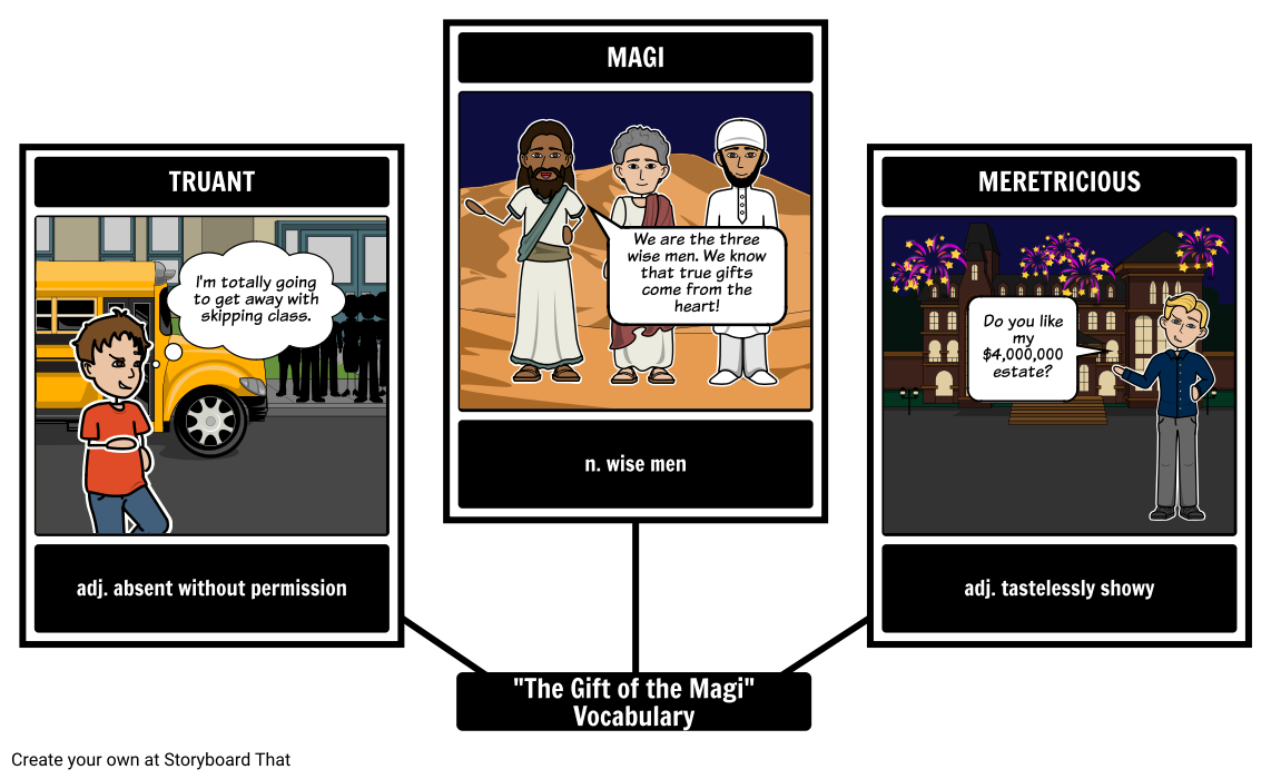 The gift of the magi theme plot summary activities the gift of the magi vocabulary negle Images
