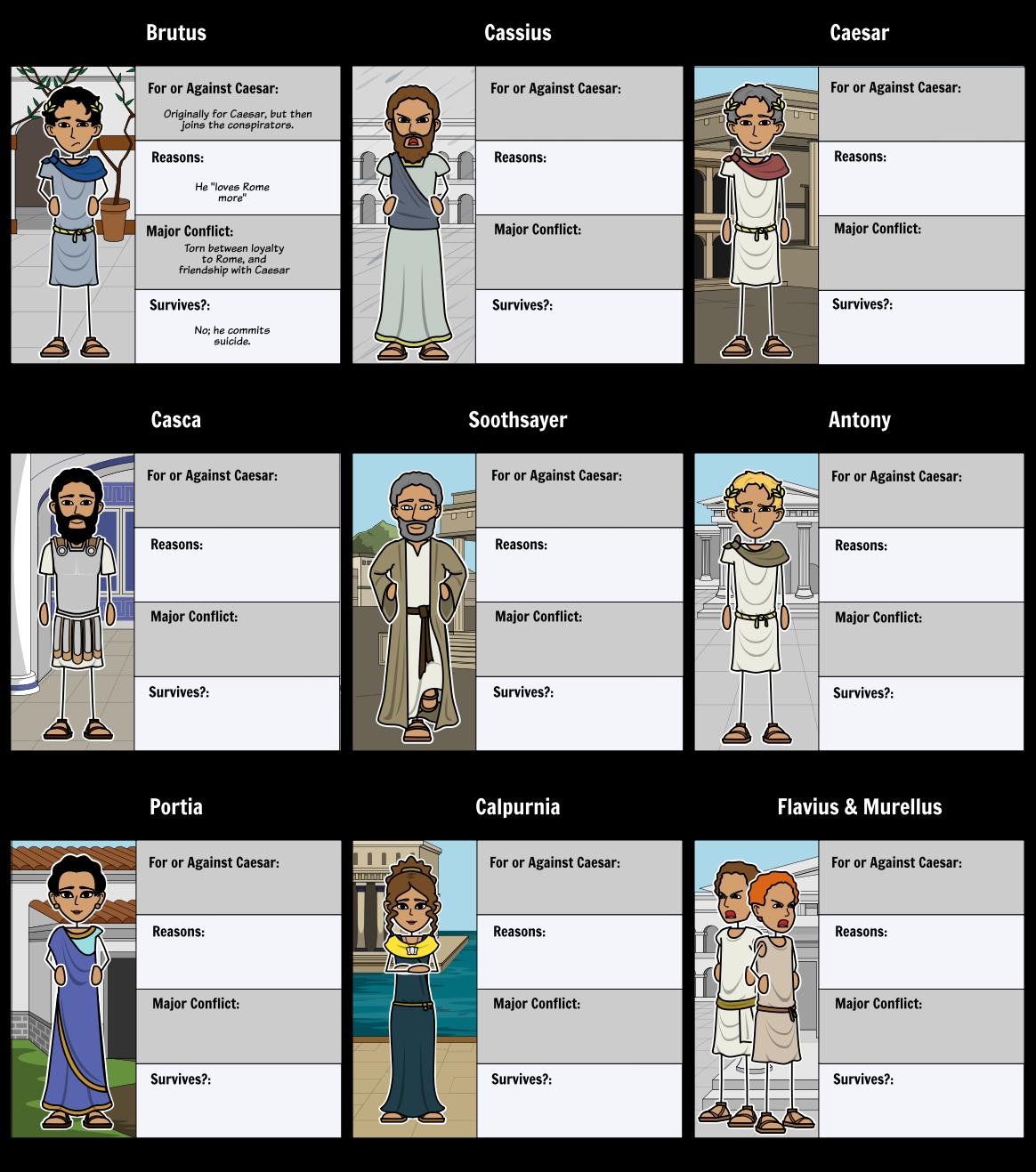 examples of rhetoric in julius caesar