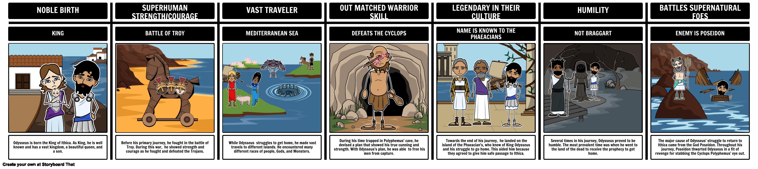why is odysseus a tragic hero