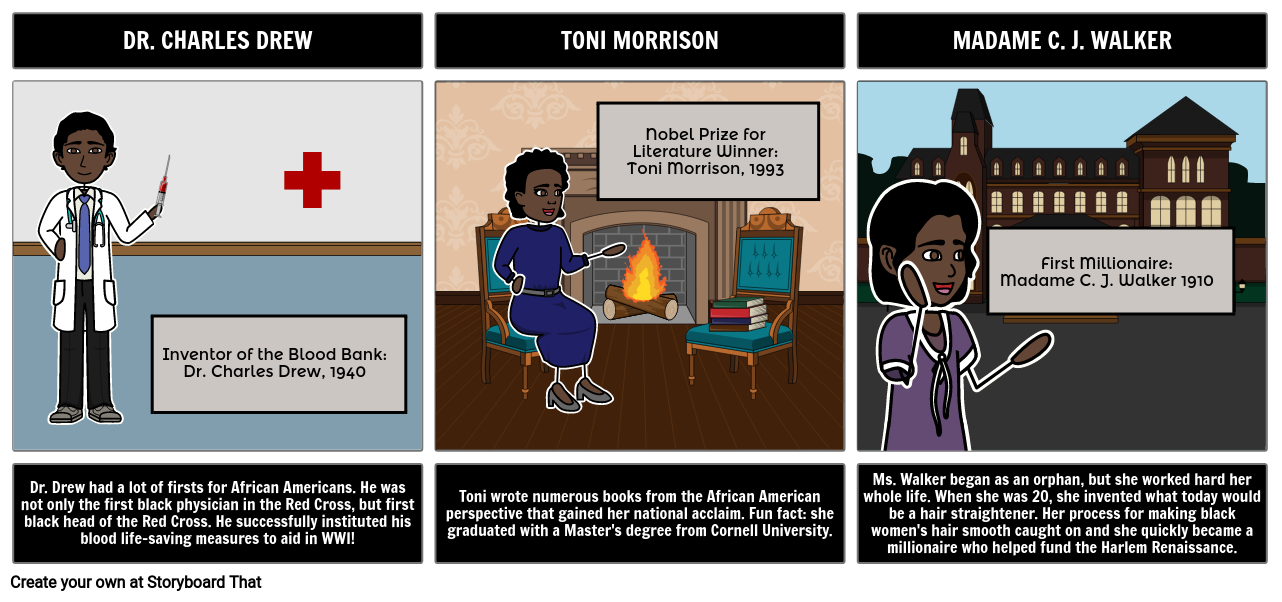 Black History Month - Firsts in Black History