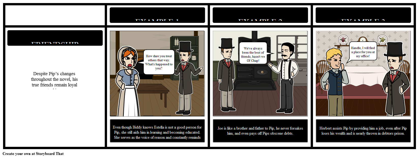 great expectations theme storyboard by rebeccaray