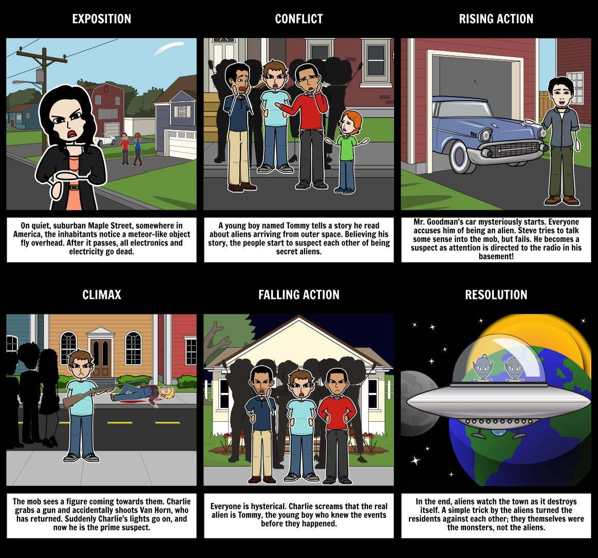 monsters on maple street short story