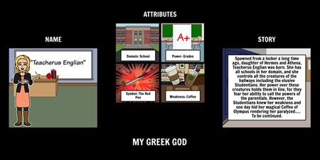 Greek Mythology - Modern Adaptation