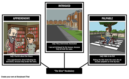 The Giver - Vocabulary