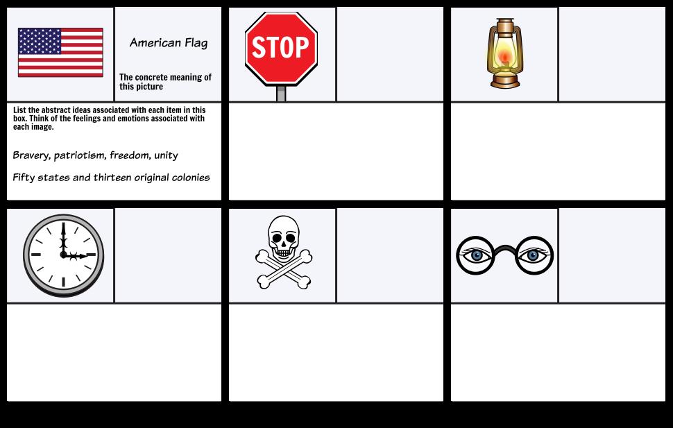 Define Theme Motif Symbolism Vs Literature Templates. Exle Worksheet 1 Abstract Thinking. Worksheet. Symbol Worksheet At Mspartners.co