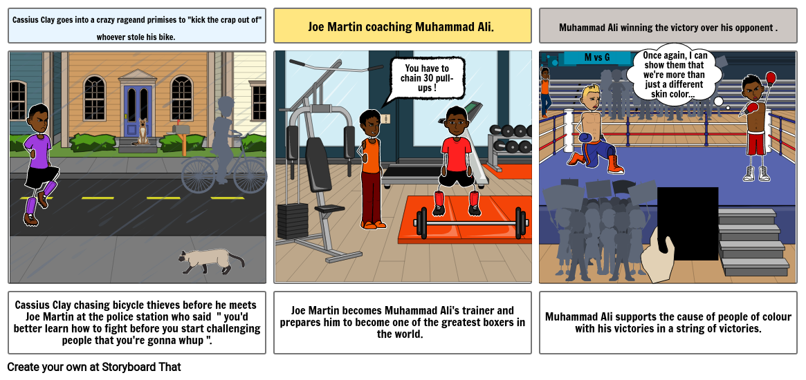 The Part of story of Muhammad Ali