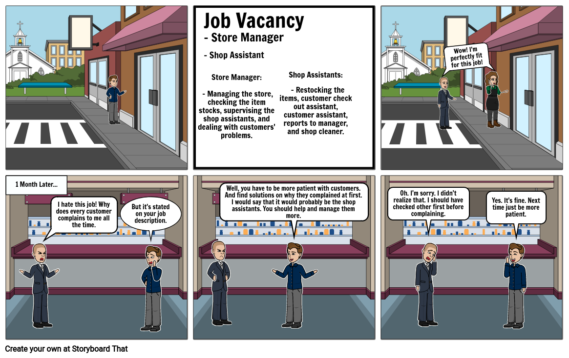 Business Comic Strip