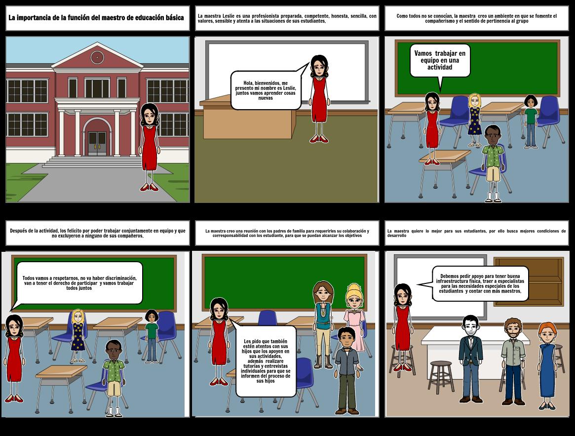 La importancia de la función del maestro en educación básica