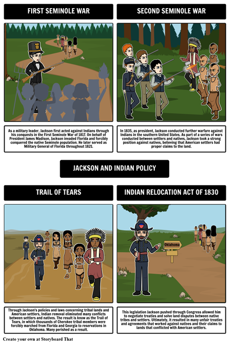 Jacksonian Democracy - Jackson and Indian Policy