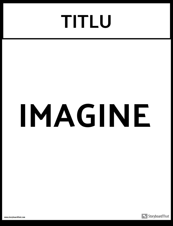 șablon de postere de birou