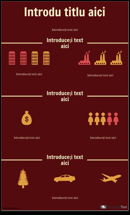 Șablon Infografic Științific