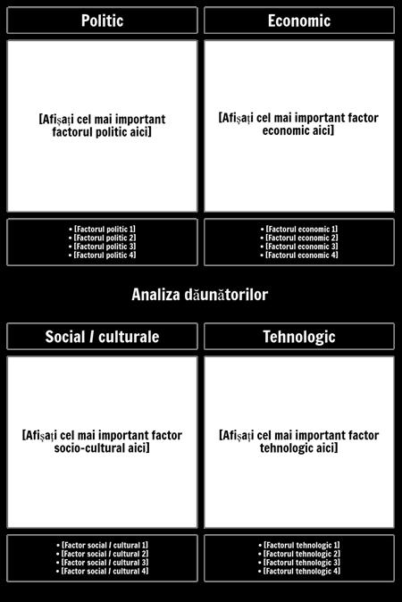 Șablonul de Analiză PEST