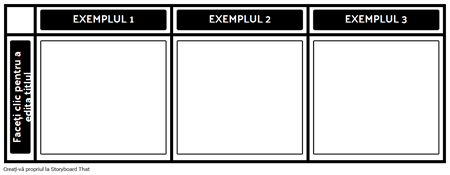 3 Tabele de Exemple