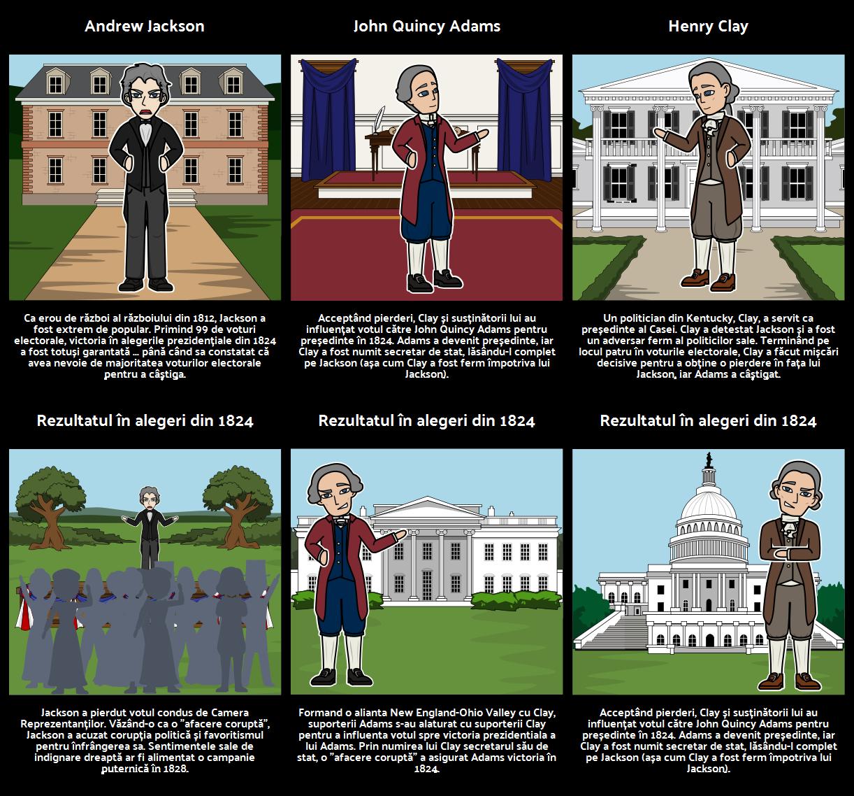 Alegerea lui 1824: o negociere corupt