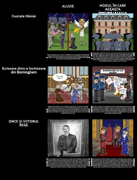 Aluziile Exemple