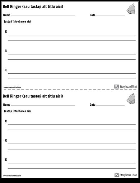 Bell Ringers - Răspunsuri Scurte