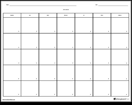 Calendar - 7 zile