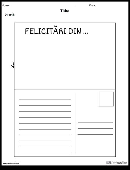 Carte Poştală
