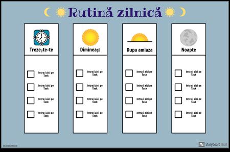 Diagrama de Rutină Zilnică
