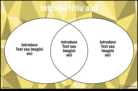 Diagrama Venn 2 Cercuri