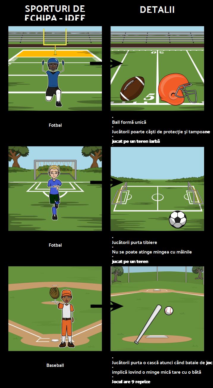 Echipa Sport - Brainstorming