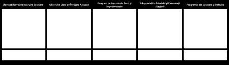Formatul Programului de Instruire